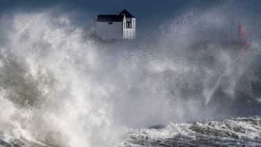 La ville de Plobannalec-Lesconil touchée par le tempête Bella