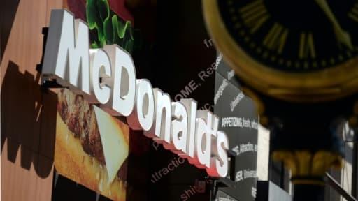 Un logo de Mc Donald's le 14 juin 2013 à New York