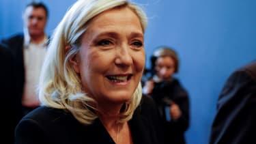 La présidente du Rassemblement National, Marine Le Pen, le 9 novembre 2019 à Paris