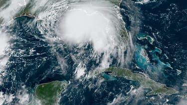 L'ouragan Sally dans le golfe du Mexique.