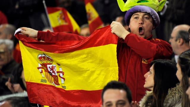 Un supporter espagnol