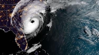 Une image satellite de l'ouragan Dorian se rapprochant des côtes américaines ce jeudi 5 septembre.