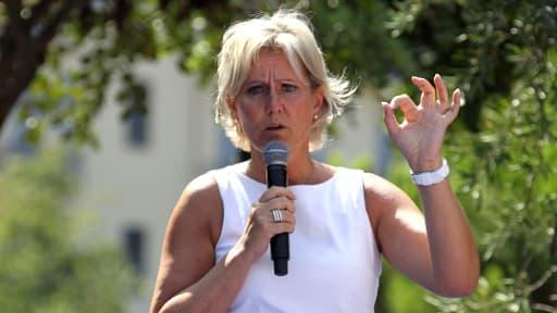 Nadine Morano, ici le 25 août 2013, à Nice.