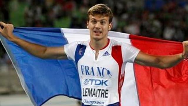 Christophe Lemaitre champion d'Europe sur 100m