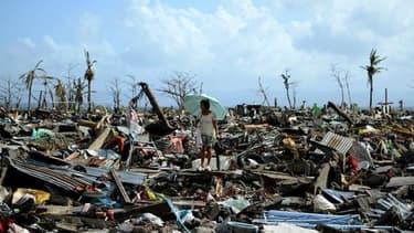 Typhon Haiyan a dévasté les Philippines
