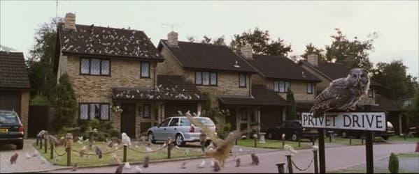 Le 4 Privet Drive dans le film