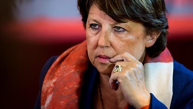 Martine Aubry le 13 septembre 2014 à Lomme, dans le Nord.