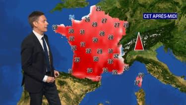 Le soleil dominera la France durant la journée de ce dimanche, avec de fortes chaleurs.