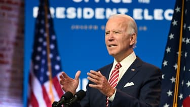 Joe Biden, le 16 novembre 2020 à Wilmington