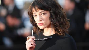 Asia Argento à Cannes en mai 2018