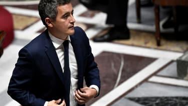 Gérald Darmanin lors des questions au gouvernement à l'Assemblée nationale, le 28 juillet 2020