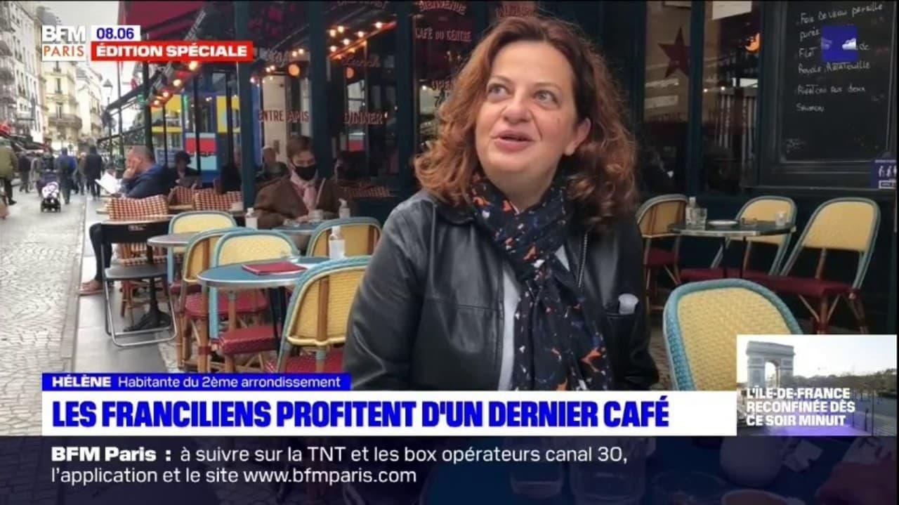 Confinement: les Franciliens profitent d'une dernière sortie