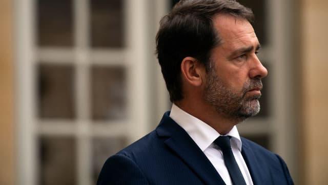 Christophe Castaner, le 30 juillet 2019 à l'Elysée.