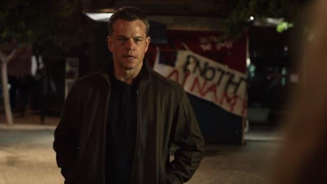"Matt Damon dans ""Jason Bourne"""