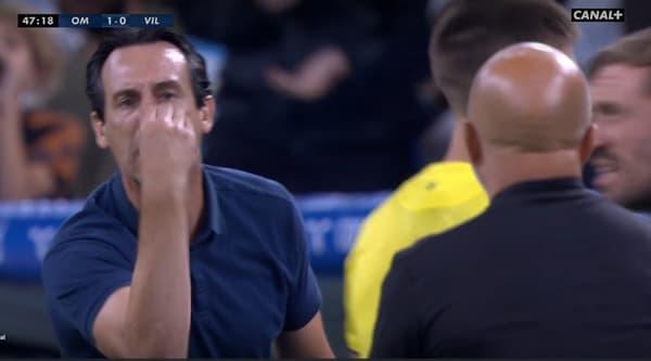 Grosse tension entre Unai Emery et Jorge Sampaoli lors du match amical OM-Villarreal