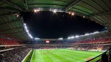 Le stade du MMA fut le premier stade financé par un partenariat public privé en France