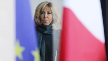 Brigitte Macron à l'Elysée, le 21 janvier 2019.