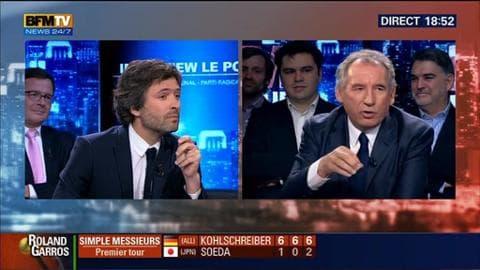 """François Bayrou face à Christophe Ono-dit-Biot dans BFM Politique: """"Le débat sur la réforme du collège est une mystification"""""""
