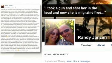 La page Facebook de Randy Janzen.