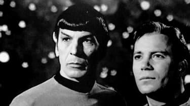 Spock et le Capitaine Kirk