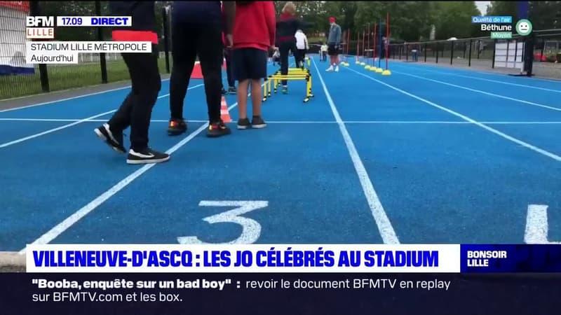 Villeneuve-d'Ascq: les Jeux olympiques célébrés au stadium