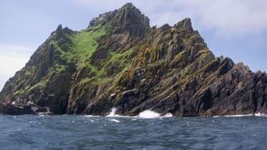 L'île Skellig Michael, aperçue dans Star Wars