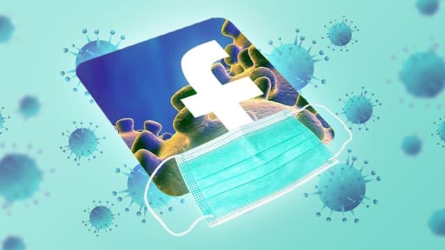 Facebook: comment les groupes anti-masques ont forgé leur popularité