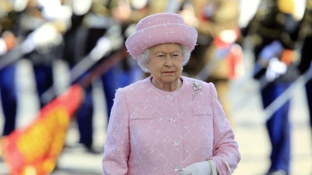 Elizabeth II à Paris en juin 2014.