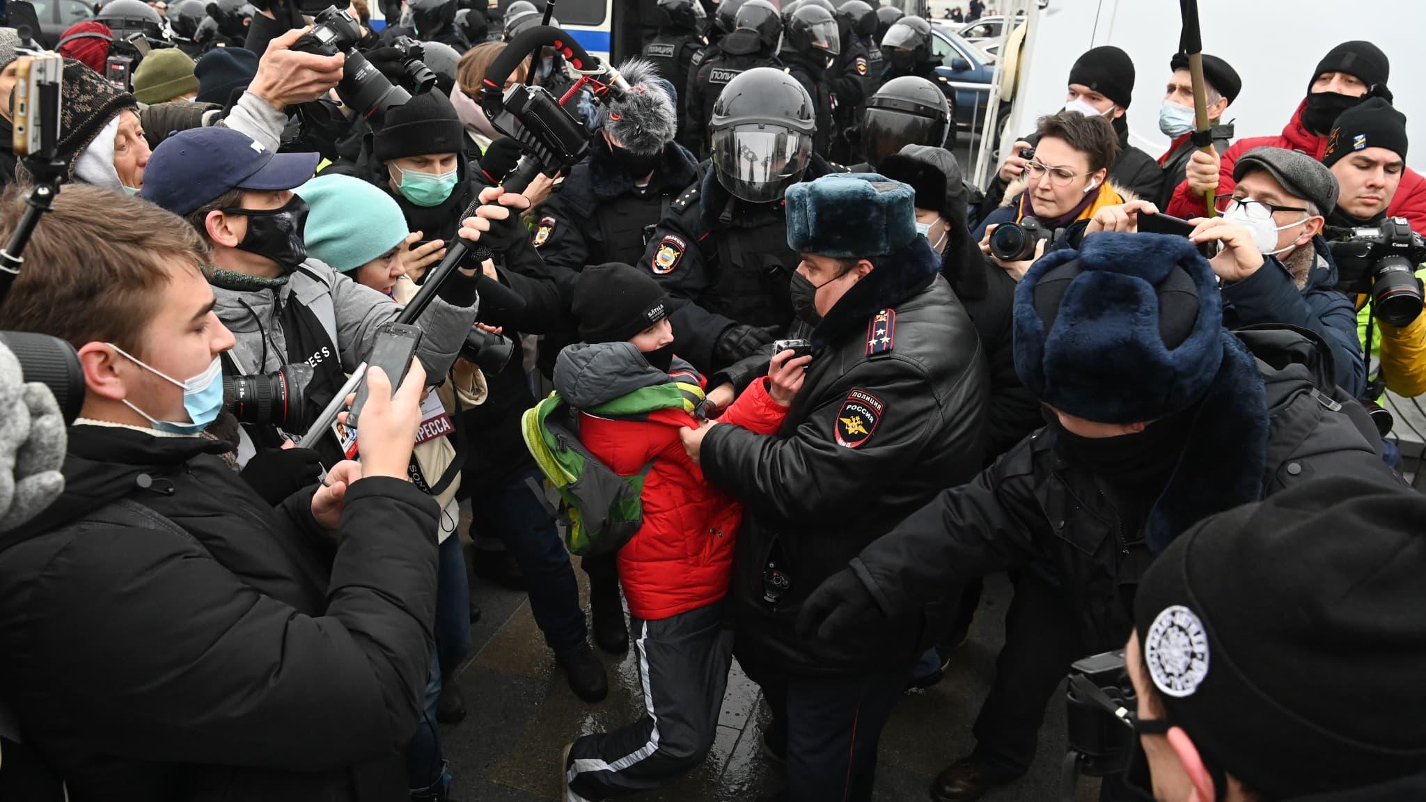 Russie: l'épouse de l'opposant Alexeï Navalny dit avoir été interpellée à Moscou