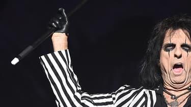 Alice Cooper sur scène le 11 juin 2016