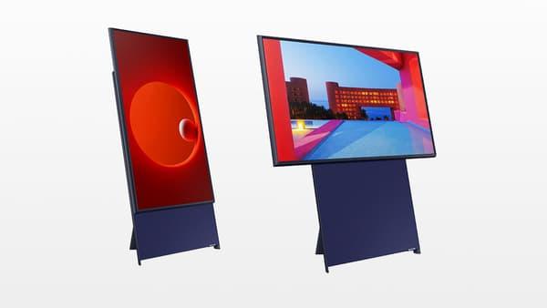Le téléviseur The Sero de Samsung