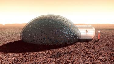 Que ce soit sur la Terre ou sur Mars, le BTP est le nouveau terrain de jeu de l'impression 3D, affirme Arnault Coulet, fondateur de Fabulous et initiateur du projet Sfero.