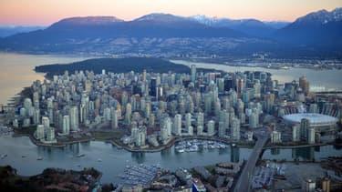La ville de Vancouver au Canada