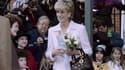 Lady Diana en mars 1996