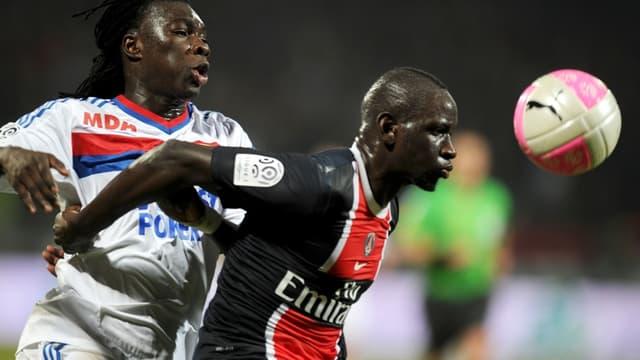 Bafétimbi Gomis et Mamadou Sakho