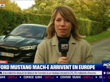 La Ford Mustang Mach-E, un SUV électrique, arrive en Europe