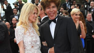 Igor Bogdanov et Julie Jardon en mai 2017 à Cannes