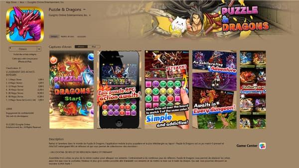 Puzzle & Dragons est un jeu mobile très amusant, réservé aux amateurs de jeu de rôle et de dragons