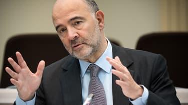 Pierre Moscovici, commissaire européen en charge des affaires économiques.