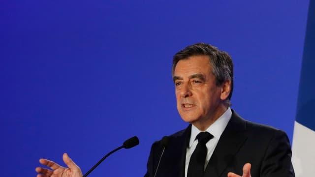François Fillon, le 6 février 2017.