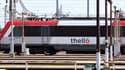 Cette ligne est notamment empruntée par des trains Thellos italiens ( image d'illustration)