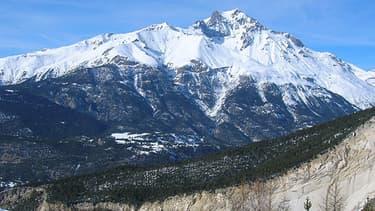 Le pic de la Dent Parrachée, dans le massif de la Vanoise, où a eu lieu l'avalanche.