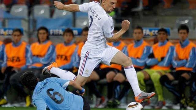 Lors du huis clos, Franck Ribéry a été replacé dans l'axe