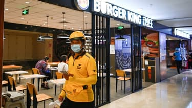 Un restaurant Burger King à Beijing