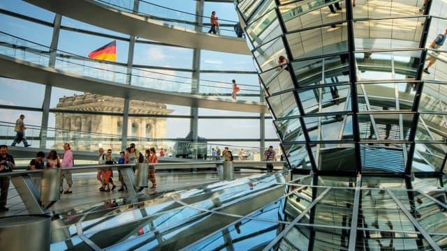 Berlin a largement contribué à ce nouveau record. Le nombre de nuitées de touristes étrangers dans la capitale allemande a été multiplié par huit en 20 ans.