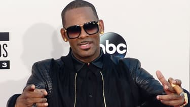 Le chanteur R. Kelly aux American Music Awards à Los Angeles en 2013