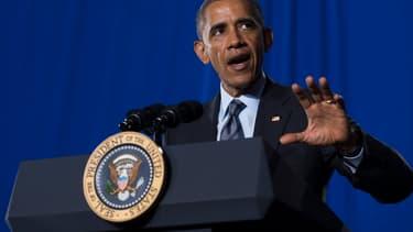 """Barack Obama a présenté cette """"mesure choc"""" pour que les entreprises américaines rapatrient leurs bénéfices."""
