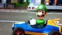 Dans la nouvelle version du jeu vidéo Mario Kart, Luigi ne semble plus si gentil.