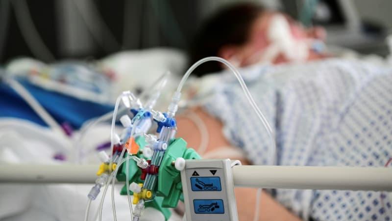 le nombre de patients à l'hôpital poursuit sa baisse