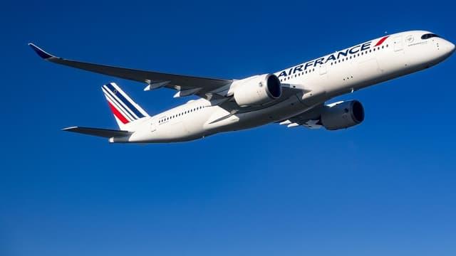 L'A350 d'Air France